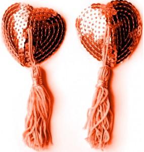 Пэcтисы розовые, (текстиль)