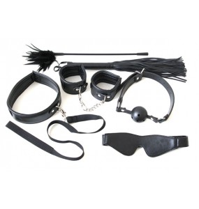 КОМПЛЕКТ MISTRESS BONDAGE KIT ЧЁРНЫЙ