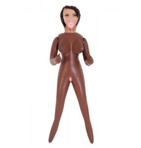 Кукла надувная, негритянка