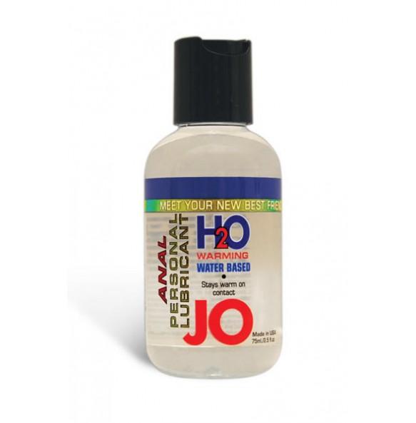 Анальный лубрикант на водной основе с разогревающим эффектом JO Anal H2O Warming 75 мл