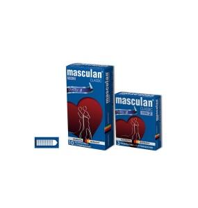 Презервативы Masculan Classic 2, 10 шт. С пупырышками (Dotty)