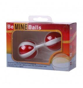 Вагинальные шарики, красно-белые